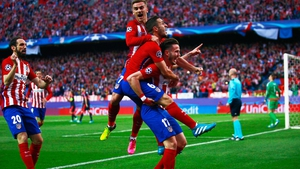 Saul Niguez scored a wonder goal for Atletico