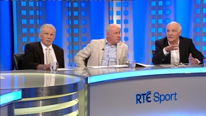 John Giles, Liam Brady and Eamon Dunphy