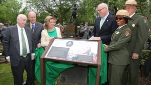 The statue was reconditioned earlier this year and re-dedicated to mark the 1916 cenenary