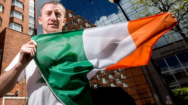 Paddy Barnes could potentially face a professional boxer in Rio