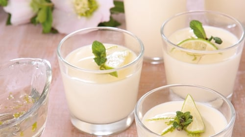 Catherine's White Chocolate Panna Cotta