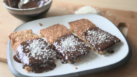 Salted Coconut Biscuits | Roz Purcell