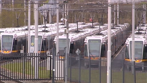 A pay cut of 10% has been imposed for Luas workers following continued industrial action