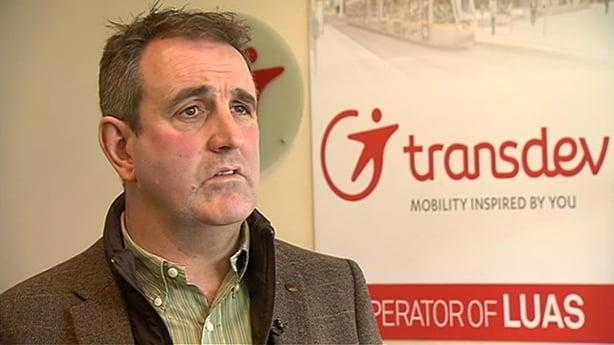 Transdev Ireland Managing Director Gerry Madden