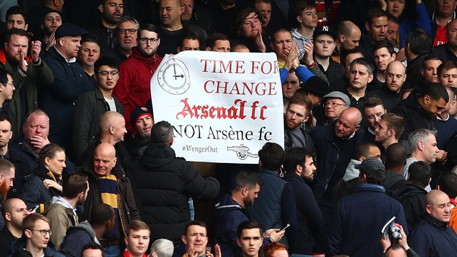 Wenger appeals for perspective ahead of protest