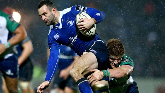 Leinster rugby player Dave Kearney