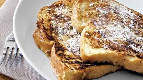 Enjoy french toast for breakfast this weekend.