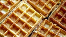 Delicious waffles to cook this weekend.