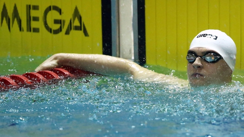 Conor Ferguson will have another attempt to make the 'A' standard in the first leg of the medley relay on Saturday