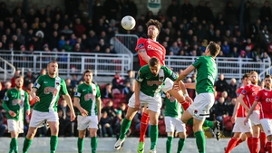 Cork City now move up to second in the top flight