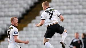 Daryl Horgan has been in flying form for Dundalk this season