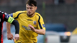 Josh O'Hanlon was on the score sheet as lowly Longford picked up a point