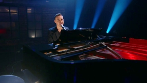 Nathan Carter on Friday's Late Late Show