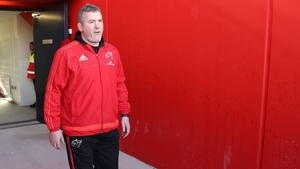 Anthony Foley is looking forward to working with Johan Erasmus