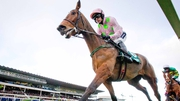 Let's Dance contests the AES Champion Four-Year-Old Hurdle at Punchestown