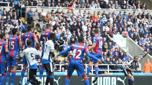 Andros Townsend curled ina delightful free kick to give the Magpies all three points