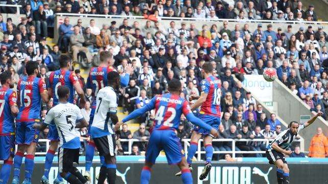 Townsend the hero as Newcastle grab vital win