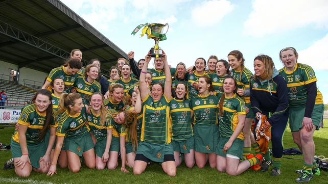 Meath promoted to camogie's top tier