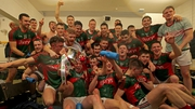 Mayo celebrations after winning the  EirGrid All Ireland U-21 final