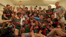 Mayo celebrations after winning the  EirGrid All Ireland U-21 final