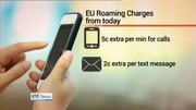 Nine News Web: Roaming charges within the EU will be significantly cheaper from today