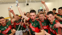 Reaction from Mayo manager Michael Solan and defender Shairoze Akram after Mayo defeated Cork to win the All-Ireland U-21 title.