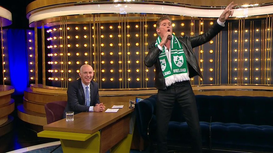 The Ray D'Arcy Show: David Hasselhoff