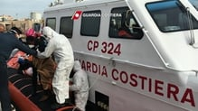 Twenty-six people were rescued from the boat which sank yesterday