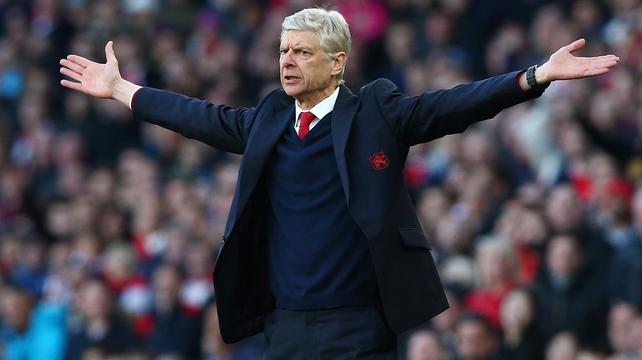 Arsene Wenger philosophical over fans' protest