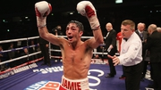 Jamie Conlan celebrates his victory