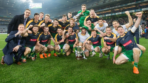 Ireland won the Cormac McAnallen Cup in 2015