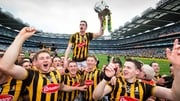 Kilkenny celebrate winning the 2015 All-Ireland SHC title