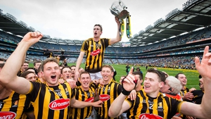 Kilkenny celebrate winning the 2015 All-Ireland SHC title
