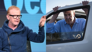 """Chris Evans (L) said of Jeremy Clarkson (R) - """"He was great on Top Gear and I love his writing"""""""