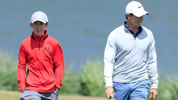 McIlroy in Irish Open pair with 13yr old