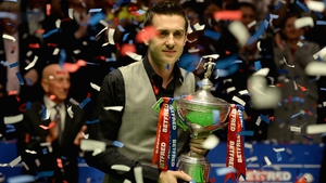 Mark Selby takes home the trophy for the second time