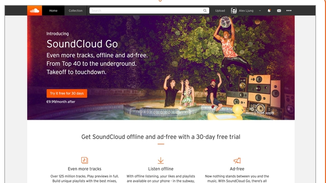 Soundcloud agrees deals with the likes of Warner Music, Universal Music and Sony Music