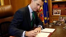 Spain's King Felipe VI has dissolved parliament