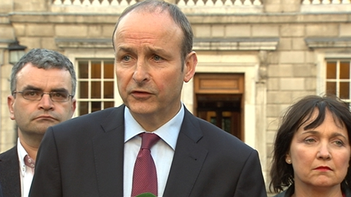 Micheál Martin said choices would have to be made on the issue of water charges
