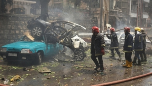 Three women died in the rocket attack on a hospital in Aleppo