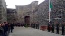 Tionóladh searmanas comórtha bháis Joseph Plunkett, Ned Daly, Michael O'Hanrahan agus Willie Pearse i gCill Mhaighneáin inniu. Cothrom an lae seo 100 bliain ó shin a cuireadh chun báis iad