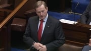 Enda Kenny said the world was aware that Fine Gael and Fianna Fáil had reached a deal