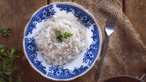 Rice to accompany your main dish