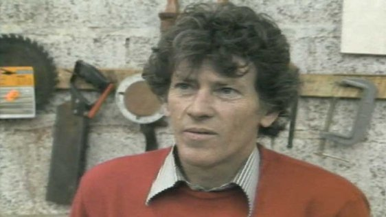 Carpenter Paddy Corbett in 1986