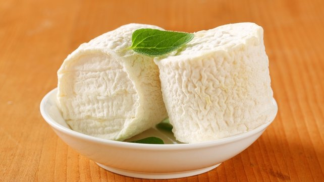 Goats cheese (or are they giant bumpy marshmallows?!)