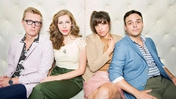 "Lake Street Dive: L-R: Michael ""McDuck"" Olsen, Rachel Price, Bridget Kearney and Michael Calabrese"