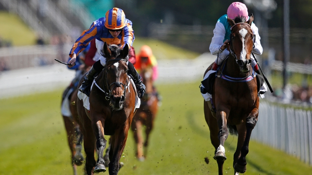 Ryan Moore Somehow takes Cheshire Oaks success