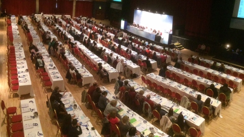 Delegates at the INMO conference in Killarney, Co Kerry