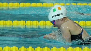 Nicole Turner taking part in the breaststroke at the Championships earlier this week