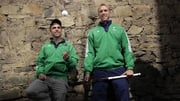 Ireland men's hockey team head coach Craig Fulton and goalkeeper David Harte
